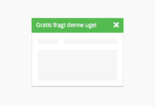 Notifikationsbar til Magento 2