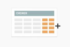 Udvidet ordreoversigt - Magentomodul fra TRIC Solutions