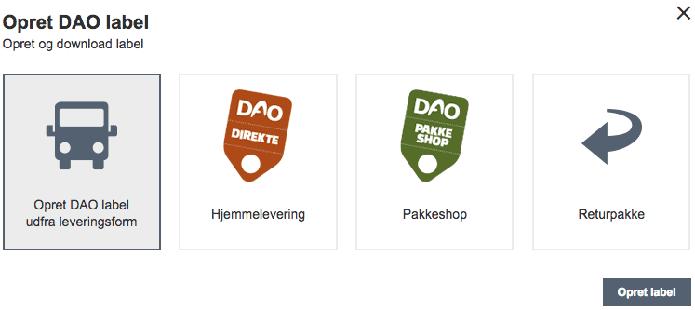Magentomodul fra TRIC Solutions til integration med DAO
